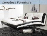 P33中国の家具現代PUのベッド