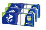Moins cher 2plis du papier hygiénique de pâte de bois vierge du papier de toilette