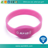Bracelets de silicones de contrôle d'accès d'IDENTIFICATION RF de prix bas