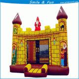 Mini castelli rimbalzante di nylon gonfiabili usati casa per i capretti