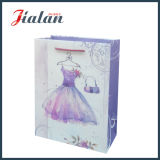 sacs en papier de cadeau de Dress Packaging Hand Shopping de Madame estampée par 4c