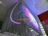 Afficheur LED de verre pour l'usage de la publicité de guichet