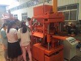 Hydraulischer Lehm-ökologische blockierenblock-Maschine der Deutschland-Technologie-Sy1-10 in Afrika