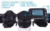 """5 """"情報処理機能をもったLCD表示携帯用電気Hoverboardが付いているハンドルバーのFoldable小型電気スクーターが付いている折る電気スクーター"""