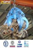 Stahlschrott-Zupacken/elektrische hydraulische Orange-Ziehen Zupacken ab