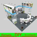 Einfache Struktur-elegante Ausstellung-Stand-Auslegung