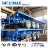 Di Vitenam del contenitore di programma di utilità tipo a base piatta del rimorchio Cimc del camion semi
