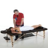 쉬운 Foldable 디자인 Xmt04에게 나무로 되는 휴대용 안마 침대를 취하십시오