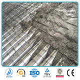 강철에 의하여 직류 전기를 통하는 물결 모양 금속 지면 Decking 장