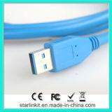 Il USB digita un maschio per digitare un cavo di estensione maschio
