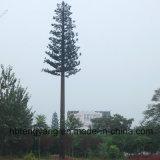 Оцинкованный сосновых деревьев отделки на поддержке GSM антенны полюс в корпусе Tower