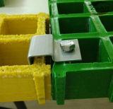 25mmのためのクリップは格子、クリップを留める工場供給Ssをきしらせた