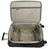 Новый багаж полиэфира прибытия установил с колесами обтекателя втулки