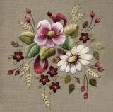 受け入れられる100%年のポリエステルフィラメントの性質の白い刺繍の糸によってカスタマイズされるカラー