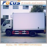 Qualidade superior 4t frigoríficos Isuzu Vegatable Alimentar Caixa Transporte Veículo