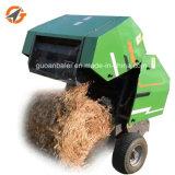 自動米の梱包機のムギの草およびわらの小型円形の干し草の梱包機