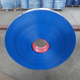 Blauer heller Schlauch Landwirtschafts-Bewässerung-Wasser-Einleitung Belüftung-Layflat