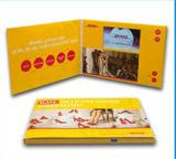 """Factory 4.3 """"Carte vidéo / Brochure avec finition brillante, conception personnalisée"""