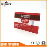 ISO 사업을%s 크기에 의하여 인쇄되는 PVC 플라스틱 카드 또는 멤버쉽 또는 승진 또는 선물 또는 충절