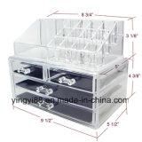Wholesale Acrylic Jewelry & Cosmetic Storage Organisateur d'affichage Deux pièces Set