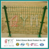 Панель ячеистой сети двойника загородки ячеистой сети PVC Coated двойная