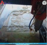 1318- 4 têtes Gravure 3D GRAVURE de défonceuse à pierre à commande numérique de sculpture sur la machine