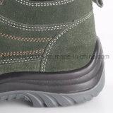 Calzado de cuero RS8133 de la seguridad del ante