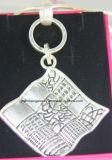 De zilveren Anti Zilveren Grote Zilveren Tegenhanger van de Halsband, Halsband Boho