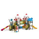 Parque Infantil exterior de plástico para crianças e crianças (JYG-15018)