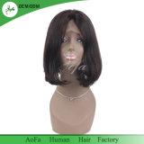 Perruque normale de cheveu de femme de cheveux humains de Vierge de Brown de type de Bob bonne