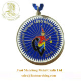 子供のためのカスタム円形浮彫りの子供の中国の製造者の奇跡的なメダル