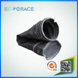 Funda industrial del filtro de la fibra de vidrio del cemento para la filtración del humo