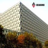 외부를 위한 입히는 알루미늄 합성 위원회 15 년 보장 PVDF