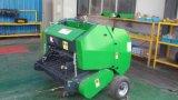 セリウムによって証明されるトラクターによって動力を与えられる小型円形の干し草の梱包機