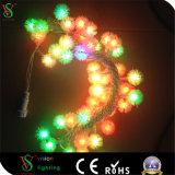 Indicatore luminoso variopinto della stringa del LED per la decorazione di natale