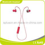 Fones de ouvido estereofónicos sem fio de Bluetooth dos esportes com o microfone na orelha para o computador do telefone