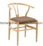 나무로 되는 색깔을%s 가진 의자를 식사하는 현대 금속