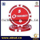11.5g 8stripe Poker Chip (sy-D17J)