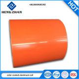 PE/ПВДФ 1100, 3003, 3004 сплава высокое качество цветной окрашенный алюминиевый корпус катушки для металлических кровельных материалов