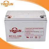 Batterij van het Gel van het Lood van hoge Prestaties 12V 100ah de Zure Zonne