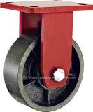 Roulette résistante supplémentaire de fer de bas-de-ligne