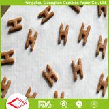 Papier antiadhésif de traitement au four traité par silicones d'épreuve de pétrole