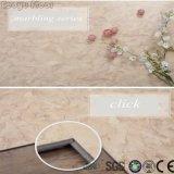 Intertravamento de mosaico de madeira Eco-Friendly convenientes Clique em LVT PVC piso de vinil