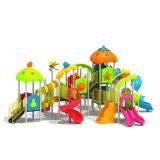 Parque Infantil exterior de plástico para crianças e crianças (JYG-15026)