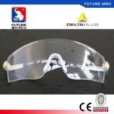 Deltaplus Anti-Fog óculos de segurança com soft nose Pad e as proteções laterais