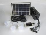 Mini caricatore solare di campeggio del Mobile del sistema di illuminazione della casa 5W