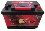 DIN Powerenergy90MF 12V90Ah sans entretien plomb-acide de batterie automatique