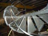 中国の専門の製造業者の河北Jiuwangの外部によって電流を通される鋼鉄ステアケース