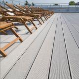 Plancher composé en plastique en bois UV et imperméable à l'eau Anti- du Decking WPC