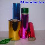 금속 PVC 필름에 의하여 금속을 입히는 PVC 필름